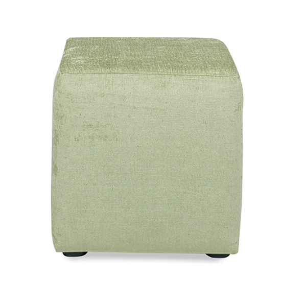 Regency Cube Ottoman - Apple
