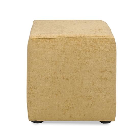 Regency Cube Ottoman - Camel